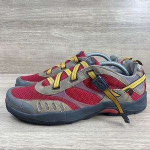 Ahnu Trail Red Mesh Women's Trail Running Shoe